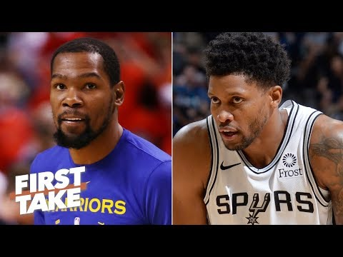 Kevin Durant is getting advice from Rudy Gay about recovering from an Achilles injury | First Take