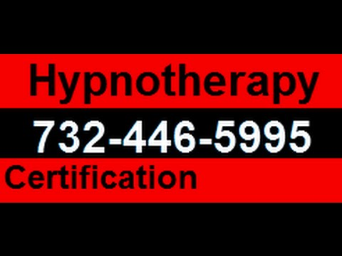 New Jersey Hypnotherapy Certification - Hypnotherapy Training Course NJ