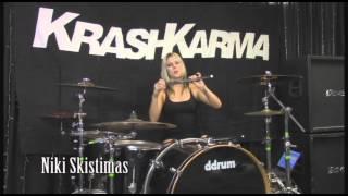 AHEAD Drumsticks: Niki Skistimas - KRASHKARMA