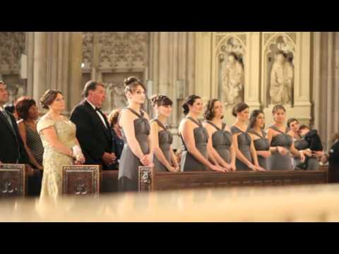 Jackie + Russ' Wedding Ceremony at St. Patrick's Cathedral