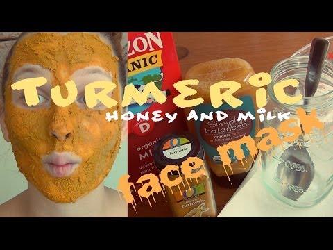 DIY Beauty ♥ Turmeric, Honey & Milk Face Mask