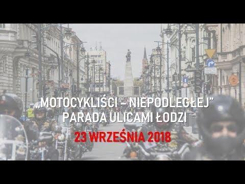 Zaproszenie Motocykliści Niepodległej łódź 23 Września 2018