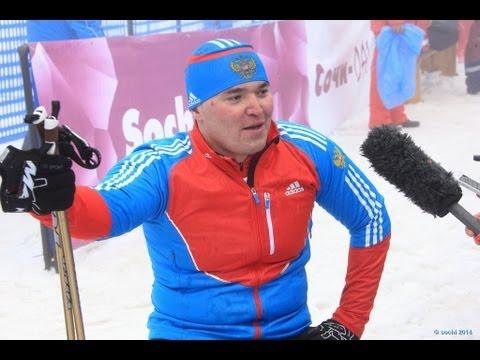 Cross country long sitting - 2013 IPC Nordic Skiing World Cup Finals Sochi