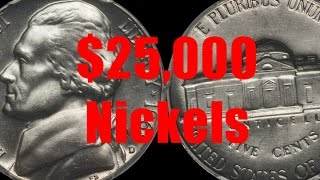 Top 5 Jefferson Nickels Worth Over $25,000