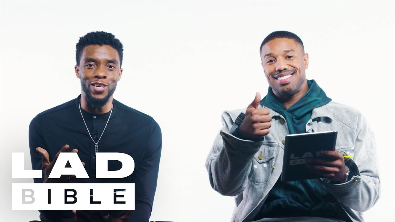 Black Panther's Chadwick Boseman & Michael B. Jordan On British Girls, Daniel Kaluuya And Spiderman