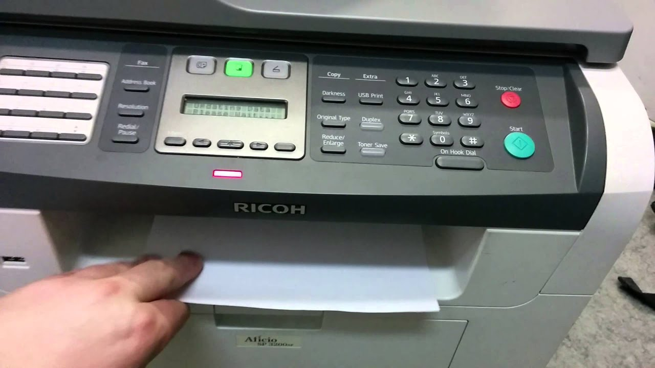 RICOH SP3200SF WINDOWS 7 64BIT DRIVER