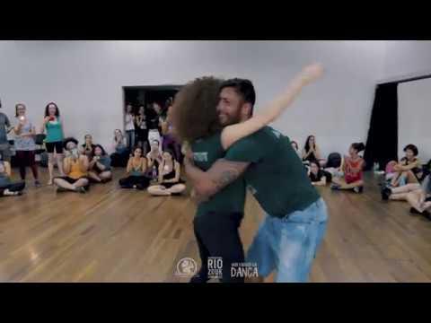 Shani Mayer & Rodrigo Oira - Demo  iniciante VII Rio Zouk Congress