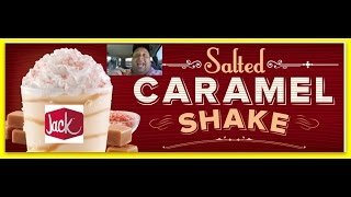Jack in the Box® Salted Caramel Ice Cream Shake REVIEW!