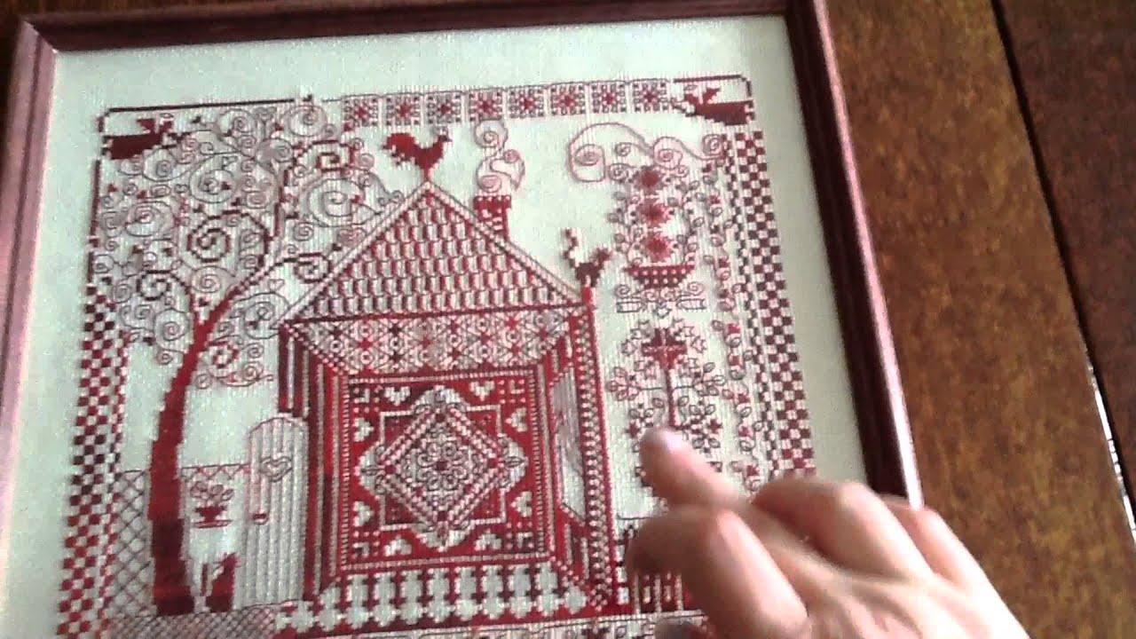Вышивка крестом оберегов в домашних