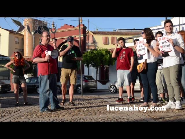 Vídeo: Concentración Antitaurina en Lucena