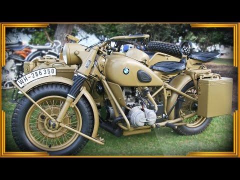 Мотоциклы рейха. BMW R75