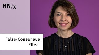 The False-Consensus Effect: You Are Not the User