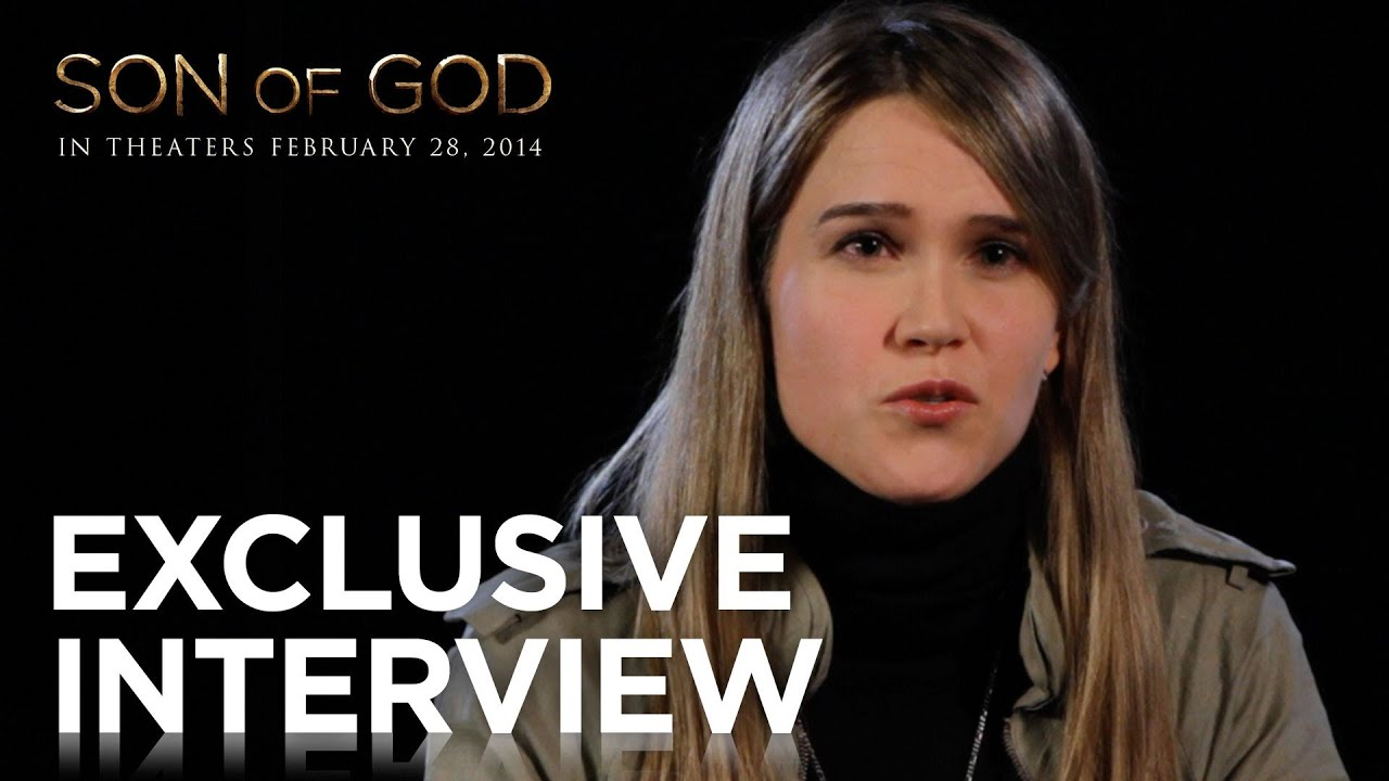 """Son of God   Rebecca Long """"Walking on Water"""" Exclusive Interview   20th Century FOX"""