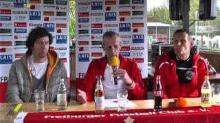 Oberliga BW 29. Spieltag, Pressekonferenz: Freiburger FC vs. Bahlinger SC