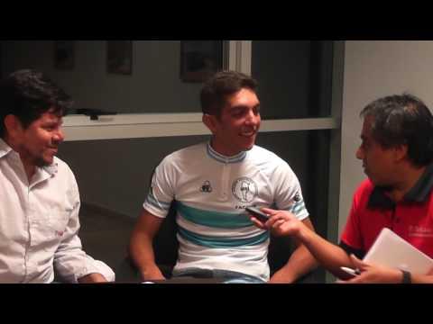 Gonzalo Najar, campeón argentino de Ciclismo, visitó El Tribuno de Jujuy