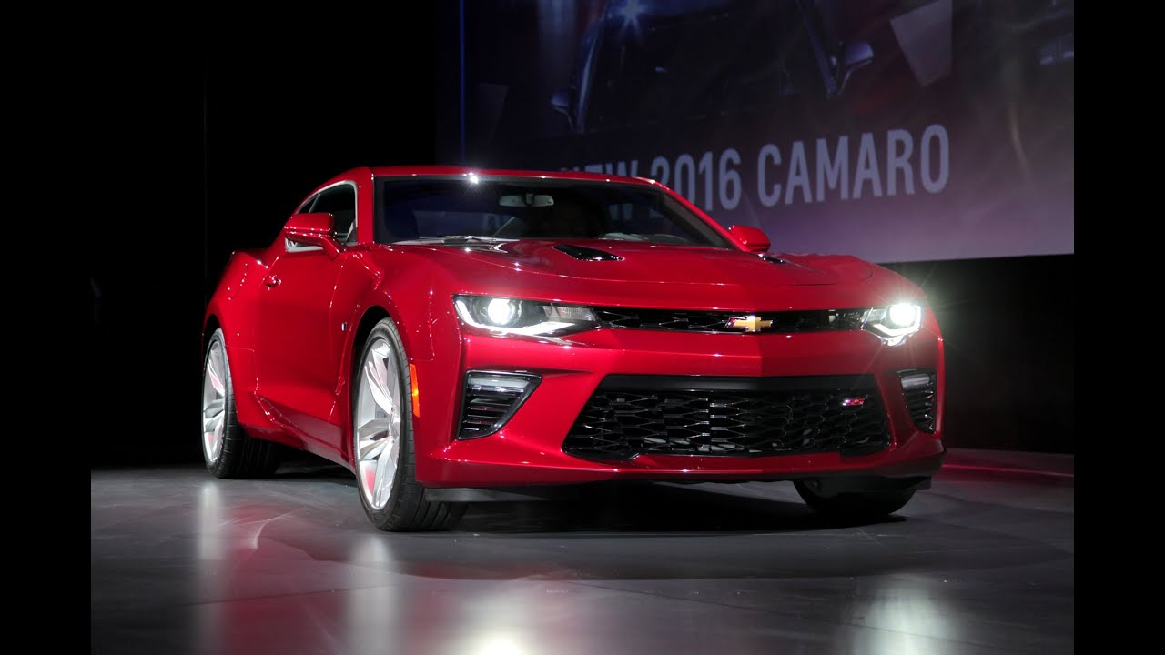 2016 Chevrolet Camaro Debut First Look YouTube
