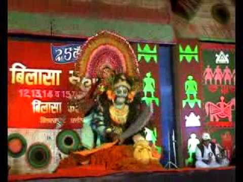 Beautiful Chhau Folk Dance Performance on Bilasa Kala Mahotsava Chhattisgarh Bilaspur