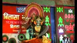 Beautiful Chhau Folk Dance Performance on Bilasa Kala Mahotsava Chhattisgarh Bilaspur