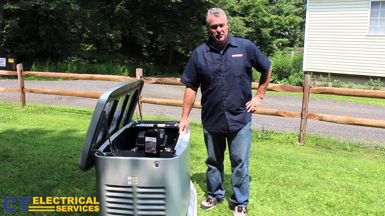 How to Check the Oil on Your Generac Generator – Important: Check