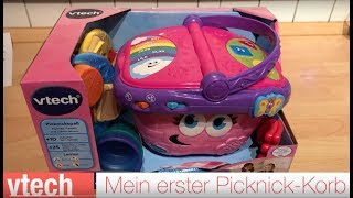 vtech - Mein erster Picknick-Korb unboxing and playing
