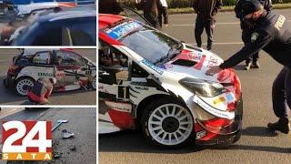 WRC vozač Sébastien Ogier se sudario u Novom Zagrebu, pokosio stup...