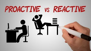 Proactive vs Reactive | Be Proactive