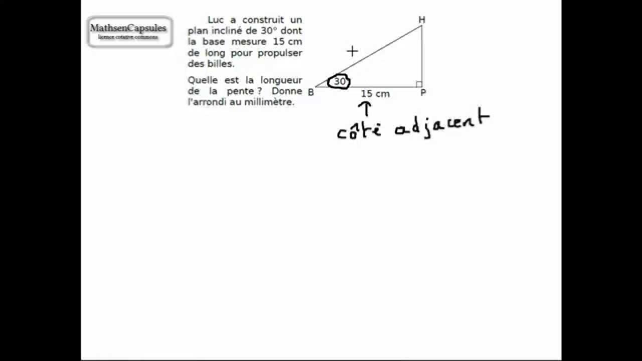 Exercice de trigonométrie - YouTube