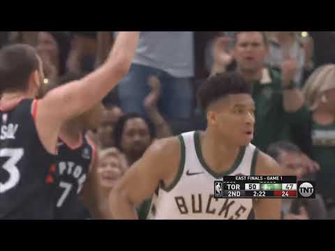 Raptors vs Bucks CRAZY Game 1 & Brook Lopez Takes Over! Raptors vs Bucks Game 1 NBA & WWE HIGHLIGHTS