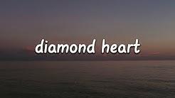 Alan Walker - Diamond Heart (Lyrics) ft. Sophia Somajo