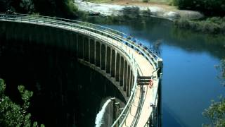 San Clemente Dam draw down - Time Lapse Video.