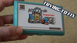 Faulty eBay Nintendo GAME & WATCH - Squish - Trying to FIX