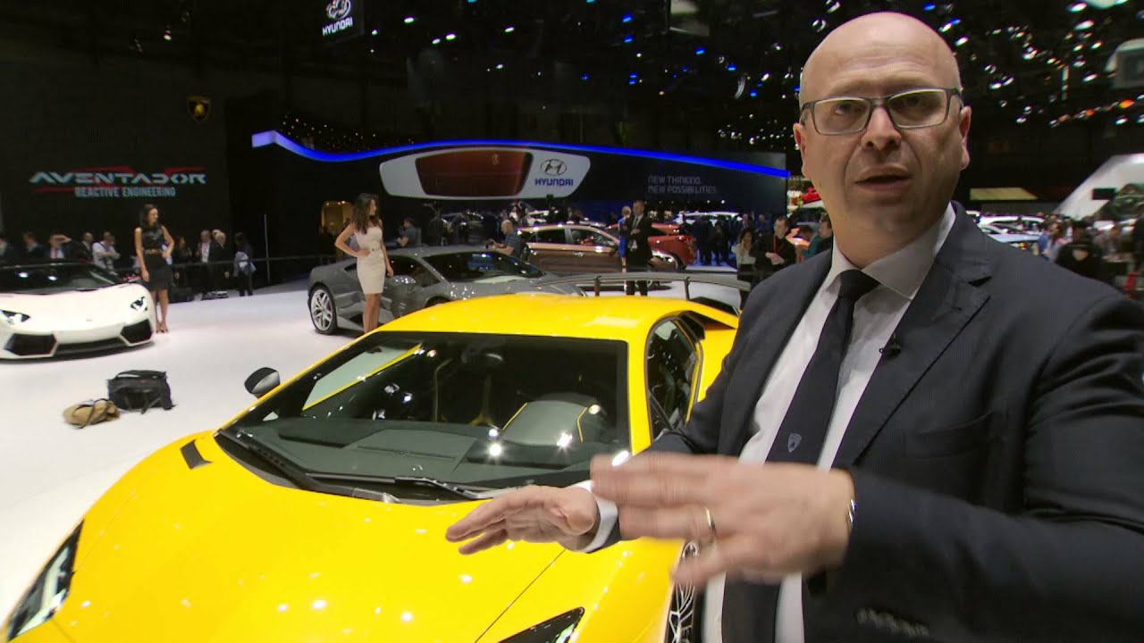Aventador SV: features highlights by Filippo Perini