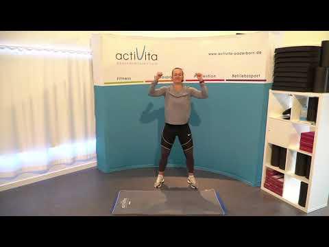 actiLiveStream #125 - Total Body + Bauch mit Kathi (Mo. 12.04.21)