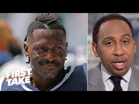 Tom Brady should make the call on Antonio Brown's Patriots return – Stephen A. | First Take