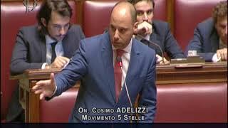 Cosimo Adelizzi - Intervento in Aula su Milleproroghe