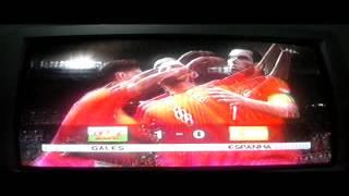 #6 Eurocopa País De Gales x Espanha !! Final CHUPA ESPANHA !!