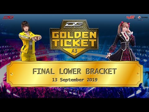 Final Lower Bracket Dunia Games Golden Ticket Area 3 - 13 September 2019