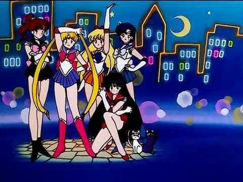 Sailor Moon R Opening 1 HD 720p Latino ( Sin créditos )