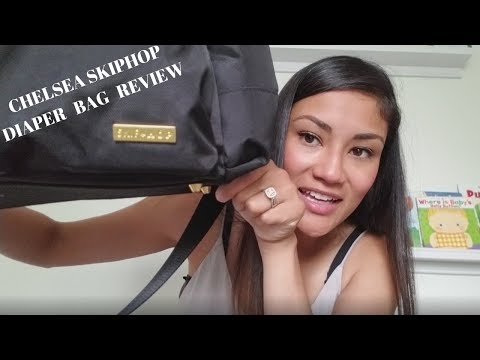 WHAT'S IN MY DIAPER BAG| SKIPHOP CHELSEA DOWNTOWN BAG