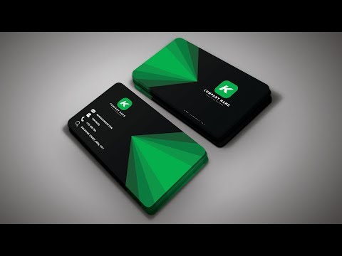 Photoshop Tutorial - Business Card Design