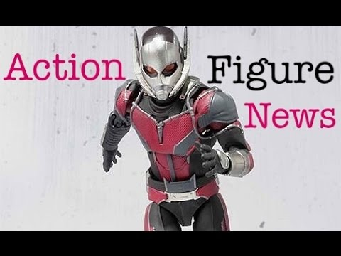 Action Figure News #59 SHF Antman - MAFEX Star Wars The Force Awakens  Figures