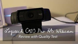 Logitech C920 Pro HD Webcam - Review & Test