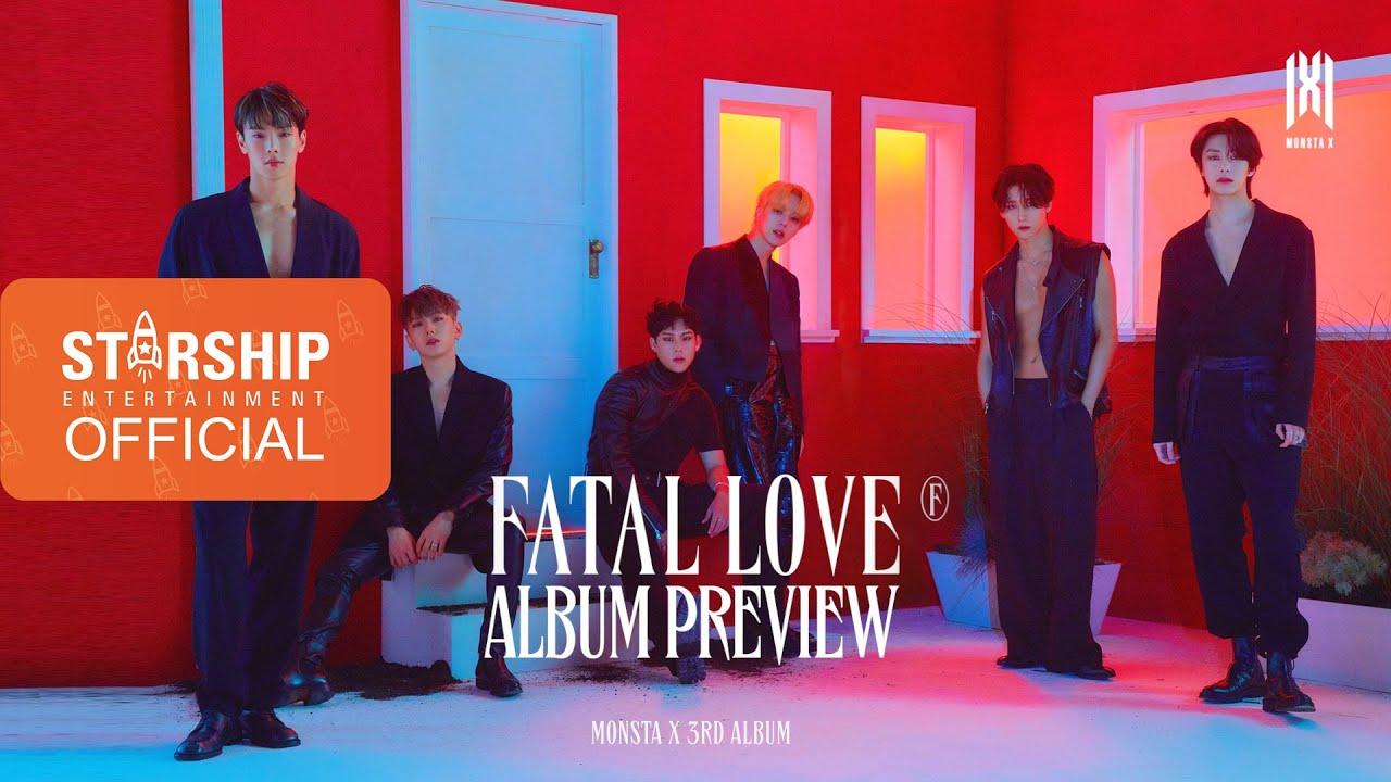 Monsta X ˪¬ìŠ¤íƒ€ì—'스 Fatal Love Preview Youtube