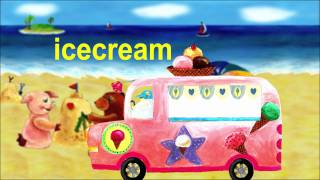island icecream - Lower Case Alphabet