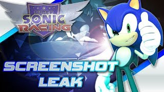 Super Sonic Racing Trailer Screenshot LEAK! Story Mode and More! (Confirmed Fake)