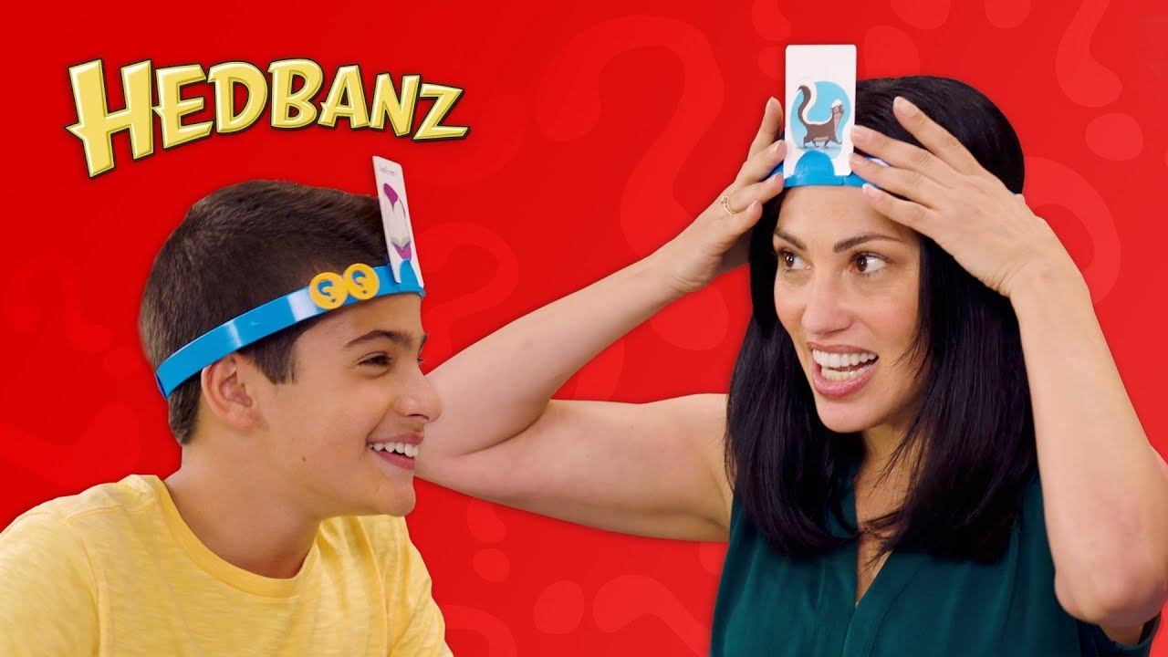 Learn How to Play Hedbanz | Featuring the NEW Hedbanz App!