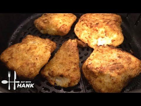 Crispy Breaded Cod Air Fryer Recipe