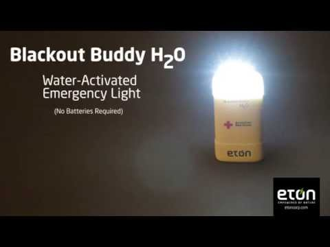 Water-Activated, Emergency-Light(No Batteries Required) - Blackout Buddy H20