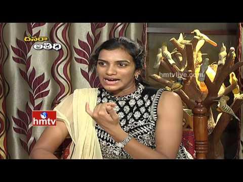 Badminton Player PV Sindhu Exclusive Interview   Dussehra Festival Special   HMTV