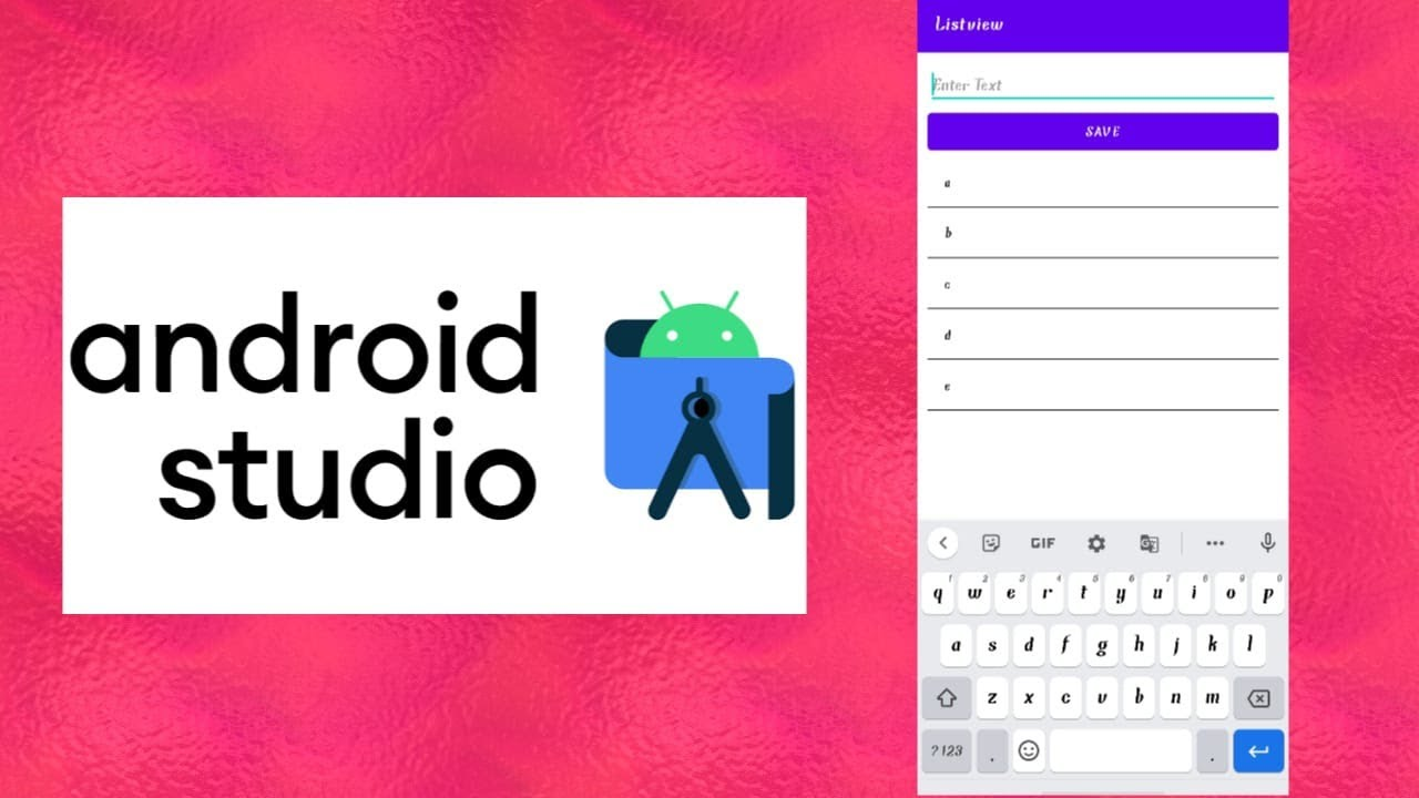 How to Add Custom Data In ListView in Android Studio || Android Studio Tutorials Begginers
